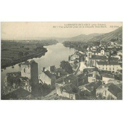 carte postale ancienne 46 LARROQUE-DES-ARCS. vue générale 128