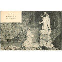 carte postale ancienne 46 ROCAMADOUR. Grotte Agonie