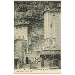 carte postale ancienne 46 ROCAMADOUR. Le Parvis