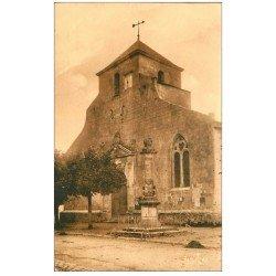carte postale ancienne 17 BROUAGE. L'Eglise. Editions Bergevin