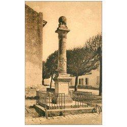 carte postale ancienne 17 BROUAGE. Monument à Champlain fondateur de Québec 1951