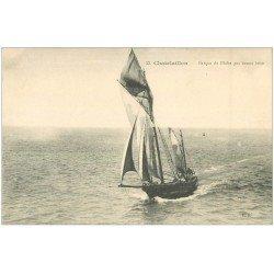 carte postale ancienne 17 CHATELAILLON. Barque de Pêche