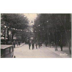 carte postale ancienne 17 CHATELAILLON. Gendarme Boulevard de la République
