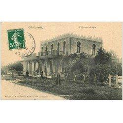 carte postale ancienne 17 CHATELAILLON. L'Hydrothérapie 1908