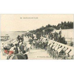 carte postale ancienne 17 CHATELAILLON. Plage