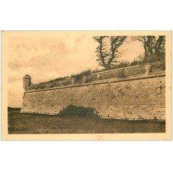 carte postale ancienne 17 HIERS-BROUAGE. Remparts. Aunis et Saintonge