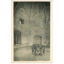 carte postale ancienne 17 LA ROCHELLE. La Tour Saint-Nicolas. Salle du 1er étage
