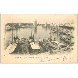 carte postale ancienne 17 LA ROCHELLE. Le Port 1902