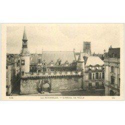 carte postale ancienne 17 LA ROCHELLE. L'Hôtel de Ville. LL 114