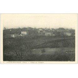 carte postale ancienne 03 CHATELMONTAGNE. Village de Chargros