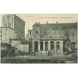 carte postale ancienne 17 PONS. Le Château