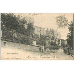carte postale ancienne 17 PONS. Le Château 1903