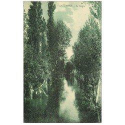 carte postale ancienne 17 PONS. Rivière la Seugne 1923