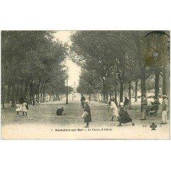 carte postale ancienne 17 ROCHEFORT-SUR-MER. Jeux d'Enfants Cours d'Ablois