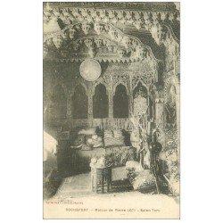 carte postale ancienne 17 ROCHEFORT-SUR-MER. Le Salon Maison de Pierre Loti