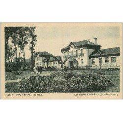 carte postale ancienne 17 ROCHEFORT-SUR-MER. Les Ecoles Emile-Zola