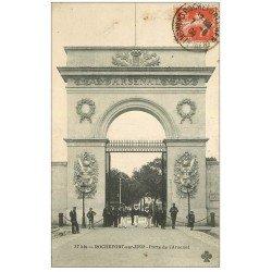 carte postale ancienne 17 ROCHEFORT-SUR-MER. Porte de l'Arsenal 1909