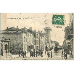 carte postale ancienne 17 ROCHEFORT-SUR-MER. Tour des Signaux Rue Toufaire 1911