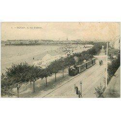 carte postale ancienne 17 ROYAN. A vol d'oiseau Train Tramway