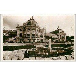 carte postale ancienne 17 ROYAN. Carte Photo. Jardins du Casino