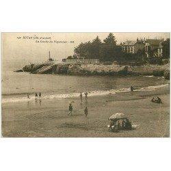 carte postale ancienne 17 ROYAN. La Conche du Pigeonnier 1927 (timbre manquant)