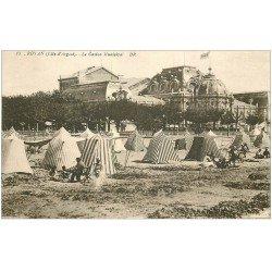 carte postale ancienne 17 ROYAN. Le Casino Municipal 1932