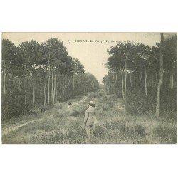 """carte postale ancienne 17 ROYAN. Le Parc """""""" Perdus dans la Forêt """""""""""