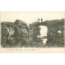 carte postale ancienne 17 ROYAN. Le Pont du Diable 1925