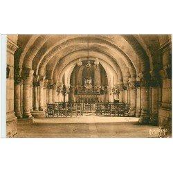 carte postale ancienne 17 SAINTES. Crypte de Saint-Eutrope