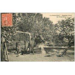 carte postale ancienne 18 BANNAY. La Buissonnière 1929. Les Bosquets