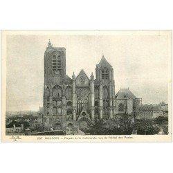 carte postale ancienne 18 BOURGES. La Cathédrale 1935