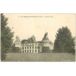 carte postale ancienne 18 Château de Grossouvre