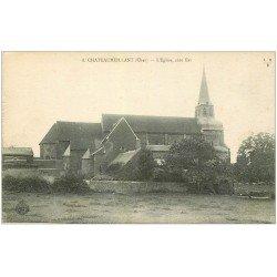 carte postale ancienne 18 CHATEAUMEILLANT. L'Eglise