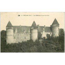 carte postale ancienne 18 CULAN. Le Château 1915
