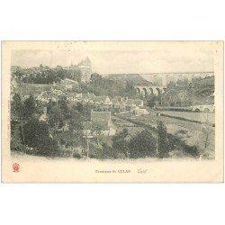 carte postale ancienne 18 CULAN. Panorama vers 1904