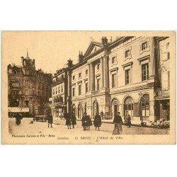 carte postale ancienne 19 BRIVE. Hôtel de Ville