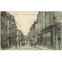 carte postale ancienne 19 BRIVE. Rue Gambetta 1917. Dépôt Central de la Dépèche