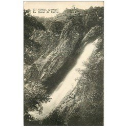 carte postale ancienne 19 GIMEL Cascades. La Queue de Cheval n°237