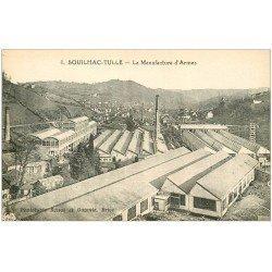 carte postale ancienne 19 SOUILHAC-TULLE. La Manufacture d'Armes