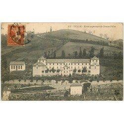 carte postale ancienne 19 TULLE. Ecole de Jeunes Filles 1915