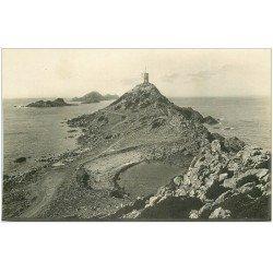 carte postale ancienne 20 AJACCIO. La Parata et les Iles Sanguinaires. Carte Photo