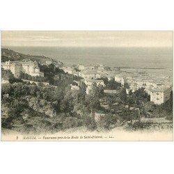 carte postale ancienne 20 BASTIA. Panorama route de Saint-Florent n°7