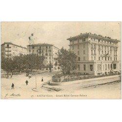 carte postale ancienne 20 BASTIA. Grand Hôtel Cyrnos-Palace 1917. Edition Moretti