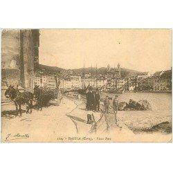 carte postale ancienne 20 BASTIA. Vieux Port 1915