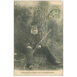 carte postale ancienne 20 CORSE. Bellacoscia Roi des Bandits Corses 1906
