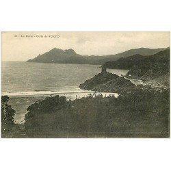 carte postale ancienne 20 CORSE. Golfe de Porto