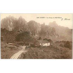 carte postale ancienne 20 CORSE. Les Gorges de Bavella vers 1928