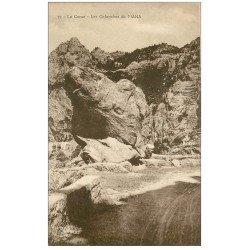 carte postale ancienne 20 CORSE. Piana. Calanques ou Calanches