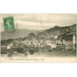 carte postale ancienne 20 CORSE. Piana. L'Entrée des Calanques 1916
