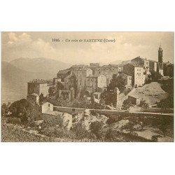 carte postale ancienne 20 CORSE. Sartène. Un coin de la Ville